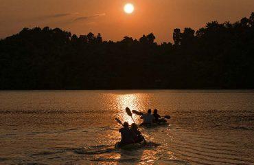 Kayaking the Sun